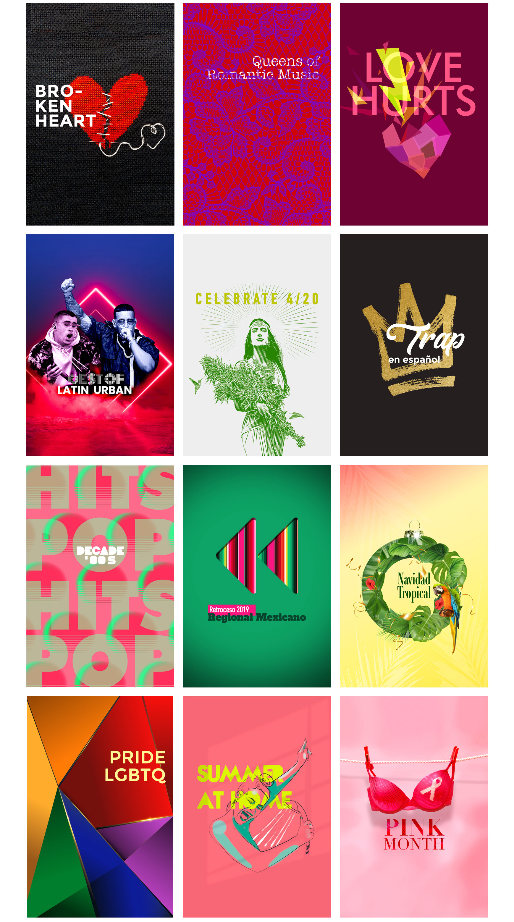 Covers for Playlists